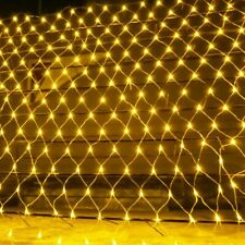 Net String Mesh Led Light Curtain Outdoor Indoor Garden Wedding Party Decoration