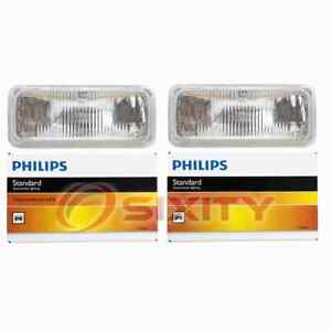 2 pc Philips High Beam Headlight Bulbs for Chevrolet Camaro 1993-1997 vg