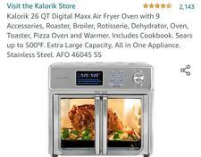 Kalorik Afo 46045 Ss 26qt Air Fryer Oven