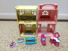 Fisher Price Sweet Streets Pet Shop Hair Salon House Dollhouse Furniture lot