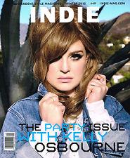 INDIE Magazine #49 W/2015 KELLY OSBOURNE Jelle Haen MAJOR LAZER Rolf Eden @NEW
