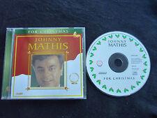 JOHNNY MATHIS FOR CHRISTMAS ULTRA RARE CD!