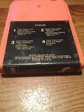 Eagles/ 1972 Asylum Records 8 Track Tape
