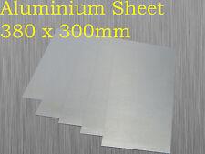 Aluminium Sheet Plate 380mm x 300mm x 1mm