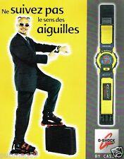 Publicité advertising 1997 La Montre G-Shock casio