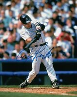 Jim Leyritz Signed Autographed 8X10 Photo NY Yankees Home Power Swing w/COA