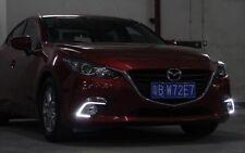 For Mazda 3 Axela 2014-2015 2x White Tube LED Daytime Day Fog Light DRL Run lamp
