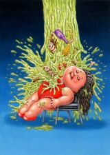 Garbage Pail Kids: We Hate The 80s Flashy DENICE / Barfed-On BEALS Final Art