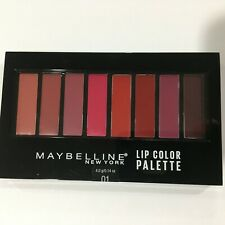 Maybelline New York Lip Color Palette Contour #01/ 8 Shades Lipstick New Sealed