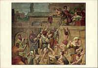 """Künstlerkarte Künstler Domenichino """"Die Heilige Cäcilia"""" Klassizismus Kunst Art"""