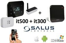 SALUS IT500 + IT300 Wireless Thermostat Smartphone Programmable 2-Zone Heating
