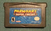Mario Kart Super Circuit GBA Authentic Official Nintendo Gameboy Advance