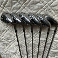 Mizuno JPX AD 5-9 Pw Iron Set Shaft SR USED From Japan FedEx Priority Shipping