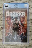 BRZRKR (Berserker) #1 - Brooks Variant - CGC 9.8 - In Hand Ships Now!!