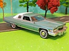 Cadillac, Luxury Cruiser, Coupe DeVille, Land Yachts, 1976, aw world, 1/64