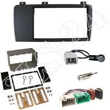 Doppel 2-DIN Radioblende Volvo S60 XC70 V70 Blende + ISO Adapter Antenne Stecker