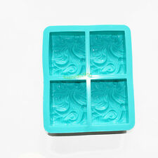 Waves Spray Candle Soap Silicone Mold Moulds Handmade 5.6*6.7 inch