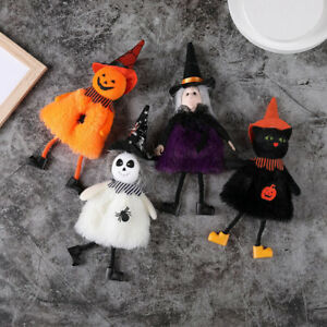 Halloween Hanging Pendant Pumpkin Ghost Black Cat Witch Home Party Festive Decor