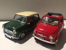 Solido 1:16 Fiat 500 und Mini Cooper S  ( No 4 )