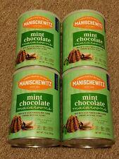 4 MANISCHEWITZ MINT CHOCOLATE MACAROONS 10 OZ COCOA POWDER & MINT COCONUT COOKIE