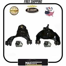 Front Suspension Lower Ball Joints Upper Control Arms Bushings 5 YEARS WARRANTY