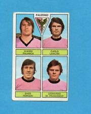 PANINI CALCIATORI 1971-72-Figurina-PALANCA+LANCINI+FERRARI+..-PALERMO-Recuperata
