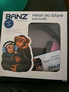 Banz Hear No Blare Baby Noise Control/Sound Protection Earmuffs Headband 3m+