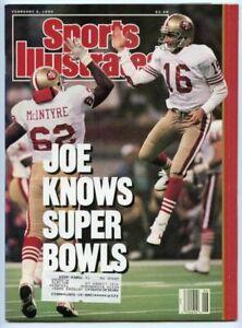SI: Sports Illustrated February 5, 1990 Joe Montana, Football, SF 49ers, VG
