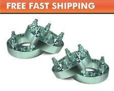 4 Wheel Adapters 5x4.5 to 5x4.75 Camaro S10 Wheel On Mustang Cherokee 1.25""