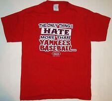 Smack Talk Red Sox Hate Yankees Baseball Fans Shirt Small S