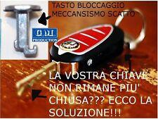 TASTO BLOCCAGGIO SCATTO RICHIUDIBILE CHIAVE ALFA MITO LANCIA DELTA Y FIAT 500