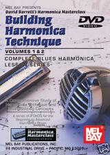 Building Harmonica Blues Technique Vol. 1 & 2 New Dvd