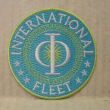 ENDERS GAME Movie  INTERNATIONAL FLEET - Patch - Aufnäher gestickt zum aufbügeln