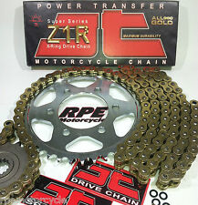 DL1000 V-STROM '02/12 JT Gold X-Ring Z1R ULTIMATE Chain and Sprockets Kit *OEM +