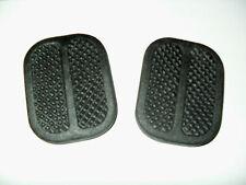 2 Gomas Pedal Freno y Embrague Fiat / Seat 124 - 127 - 128