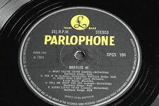 BEATLES VI  UK Export 1st Press Parlophone CPCS 104 Rock LP. EX-/VG+ ! Rare!