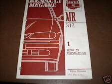 Workshop Manual Renault Megane Motor + Ancillary Units Cooling Ignition 1995