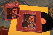 JOHNNY CASH BOX 2LP +LIBRETTO PORTRAIT EINER LEGENDE ORIG OLANDA EX++ ! AUDIOFIL