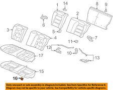 HONDA OEM Rear Seat-Seat Cushion Pad Clip 82137S84A01