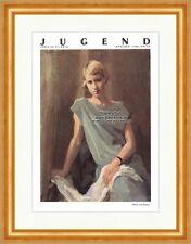 Pagina del titolo il numero 30 di 1928 Gustav Johannes Buchner ragazza gioventù 4609