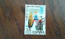 sello usado XXV aniversario feria del campo Madrid, edif. 2263 año 1975