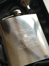 RAF AERONAUTICA MILITARE personalizzato 170ml Fiaschetta in acciaio inox