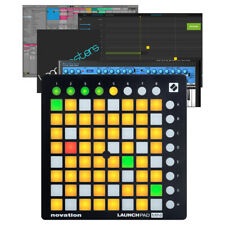 Novation LaunchPad Mini MK2 USB MIDI Pad DAW Controller + Ableton & Bass Station