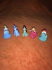 "5 x 2"" Disney Princess Mini Figures Plastic Toys Cake Toppers or Toys 👸."