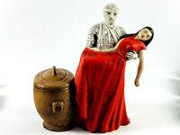 RARE vtg 1980 Nowell's Molds The Mummy Trinket Stash Box ceramic mold halloween