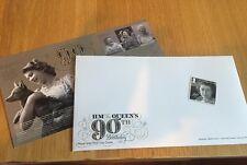 Queen Elizabeth Ii 90th Birthday Stamp & Blank Fdc