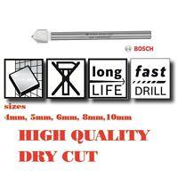 Ceramic Tile Bit Bosch Porcelain Spade Drill Diamond Ground Carbide Tip Dry Cut