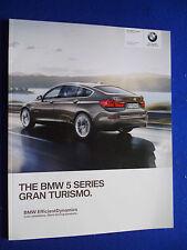 BMW 5 SERIES GRAN TURISMO CAR BROCHURE  SEPTEMBER 2014 FOR 2015 MODEL YEAR