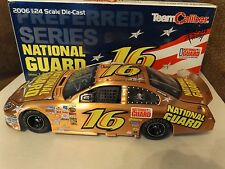 Greg Biffle Autographed #16 National Guard Copper Fusion Team Caliber 1/24 2006