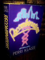 1st Edition Recombinations Perri Klass Novel First Printing Fiction Classic